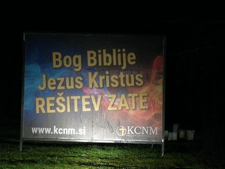 Bog Biblije, Jezus Kristus, REŠITEV ZATE